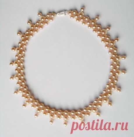 Бесплатный образец для ожерелья Pesco | Бусы