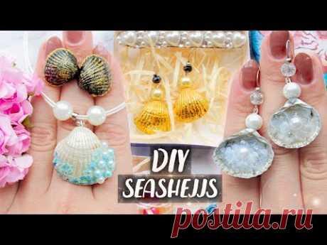 Jewelry with Seashells ► SUMMER DIY ◄ Easy