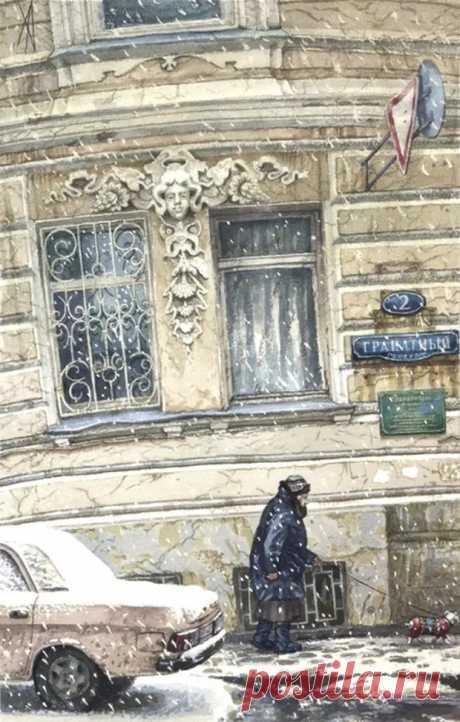 Художница Алёна Дергилёва/ 1. Ностальгия по старой Москве. - Искусство - медиаплатформа МирТесен