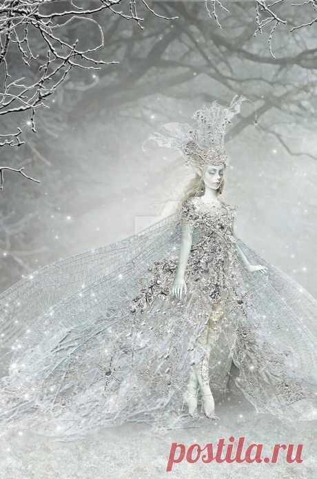 Snow elves by Maxinesimaginarium on DeviantArt