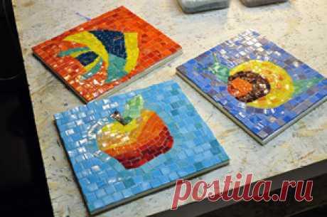 Мозаичное панно для стен своими руками: изготовление, типы укладки, использование зеркальной плитки