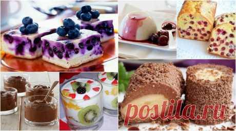 Топ-9 найсмачніших і найкорисніших десертів   Сім'я і дім Так-так, десерти бувають корисними. І безпечними для фігури. І рекомендованими дітям. І при цьому дуже-дуже смачними. Приготуйте – і переконаєтеся!