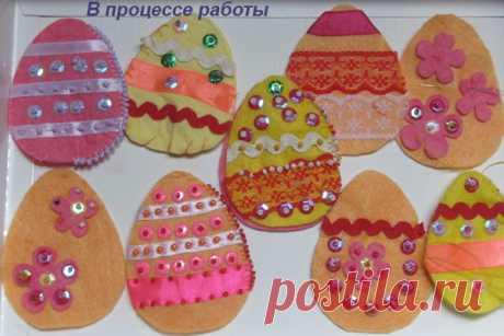 сшить пасхальные яйца из фетра - 2 757 картинок. Поиск Mail.Ru