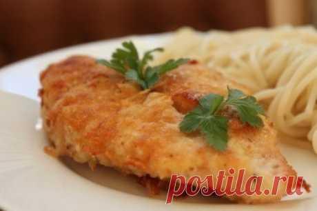 Как приготовить куриное филе в пармезане  - рецепт, ингредиенты и фотографии