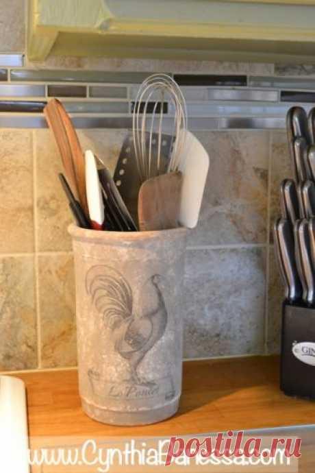 Перенос изображения на глиняные горшочки Доброго времени суток! А у меня для вас идея, воспользовавшись которой можно украсить кухню. Тема пойдет о переносе изображения на глиняную поверхность, о переносе распечатки на принтере на глиняный горшочек...