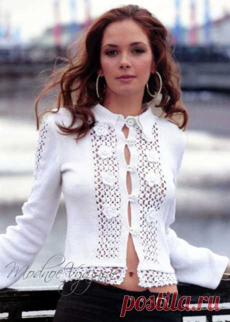 Tenderness and elegance always in fashion - Fashionable knitting