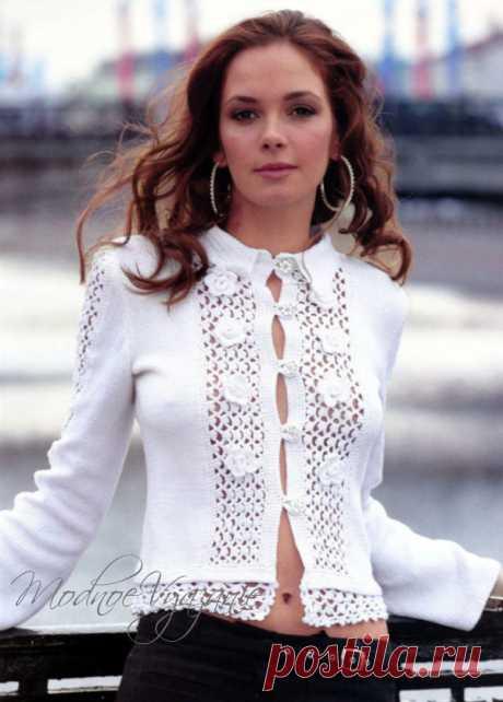 Нежность и элегантность всегда в моде - Модное вязание
