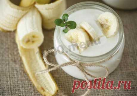 Простой десерт: творог, кефир, банан, быстро и вкусно рецепт с фото пошагово