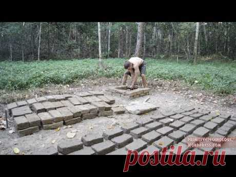 Примитивные технологии: кирпичи из грязи