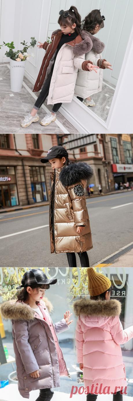 Зимние куртки и пуховики для девочек 2019-2020 на Алиэкспресс — Алиэкспресс Обзор