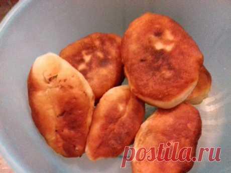 Жаренные пирожки тесто на сыворотке : Выпечка несладкая