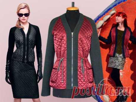 Клуб любителей шитья Сезон - сайт, где Вы можете узнать все о шитье - Стёганая женская куртка