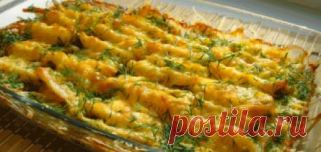 Картофель по-королевски Картофель по-королевски получается сочным, вкусным, красивым и сытным.