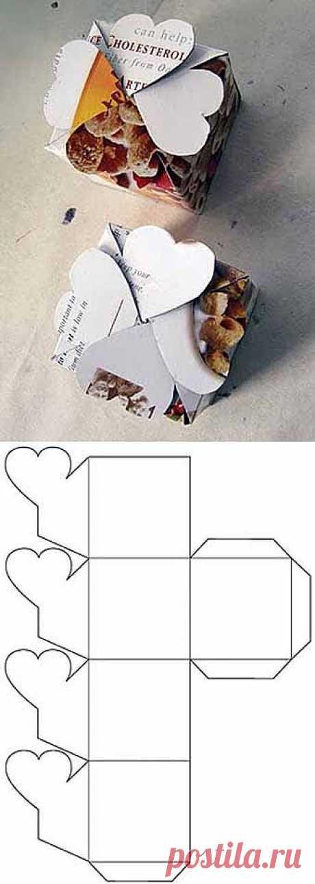 Подарочные коробочки со схемами сборки своими рукамиМастерилка - Учимся Делать Все Сами