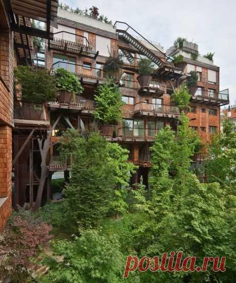 Вертикальный лес Urban Tree House — Путешествия