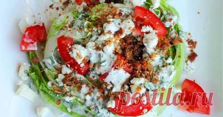 Вкуснейший салат «Айсберг» под соусом: эффективен для похудения