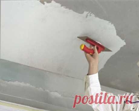 Шпаклевка потолка под покраску своими руками: чем и как шпаклевать Покраска - самый простой и доступный по цене вариант финишной отделки. Однако, окрашивание требует тщательной подготовки поверхности плиты перекрытия.