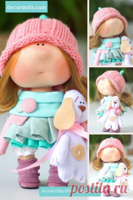 Beautiful Baby Doll Handmade Tilda Doll Interior Decor Doll   Etsy