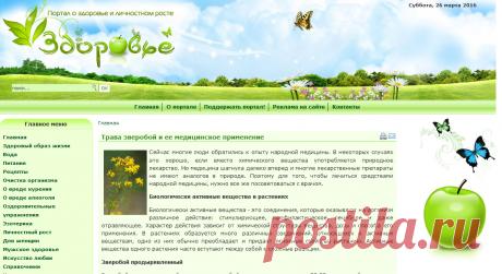 Трава зверобой и ее медицинское применение - Портал о здоровье и личностном росте
