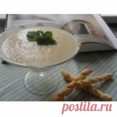 Грушевый суп-пюре с сырными палочками