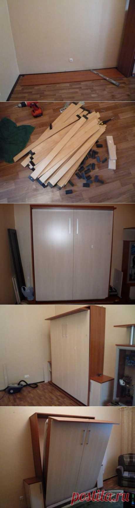 (+1) - Шкаф-кровать своими руками | МАСТЕРА