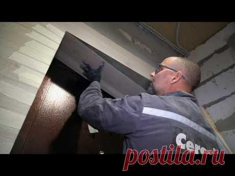 Кварцевый ламинат на стене. Как сделать красивые углы и откосы? Тамбур и коридор СТРОИМ ДЛЯ СЕБЯ