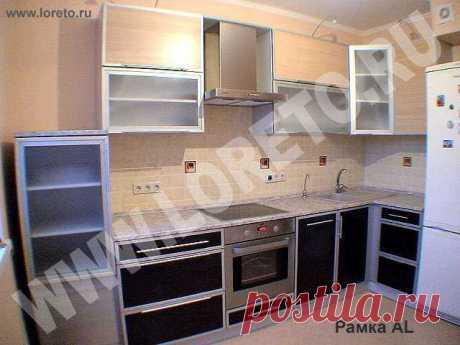 Угловая кухня на заказ от российского производителя недорого: фото 28