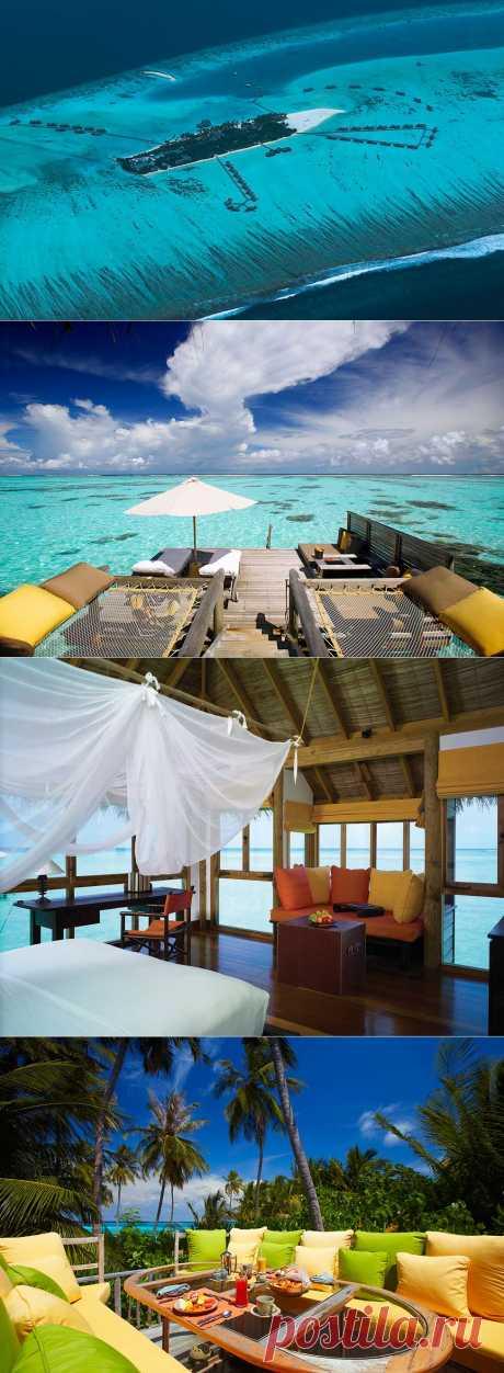 Пятизвездочный отель Gili Lankanfushi на Мальдивах