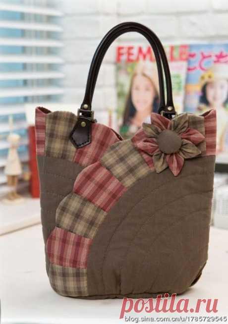 Шьем лоскутные сумки