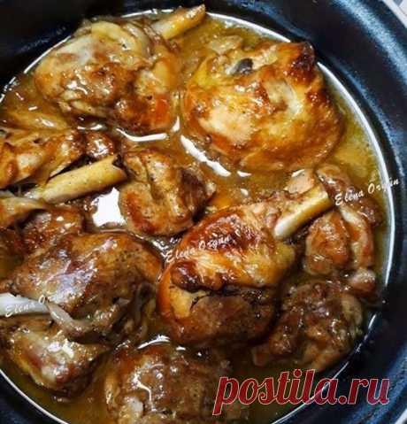 Вкуснейшая курица по-еврейски