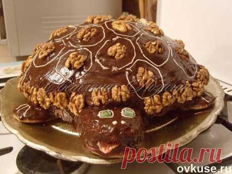Торт Черепаха - Простые рецепты Овкусе.ру