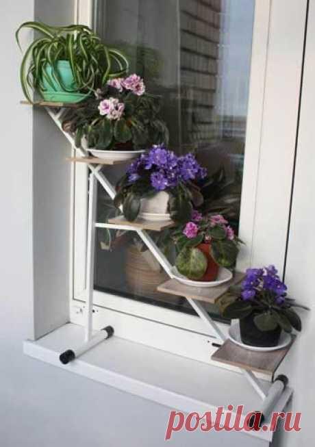 Креативные подставки для цветов / Домоседы