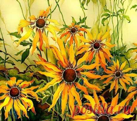 Maria Kaminskaya Batik - Beauty will save Maria Kaminskaya Batik, Russian artist, applied art, decorator, designer, Novocherkassk, Moscow, painting on silk, exclusive Batik scarves, shawls, necktie