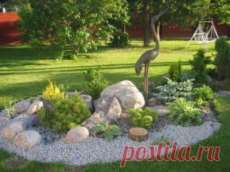 Украшаем сад своими руками — Чудеса