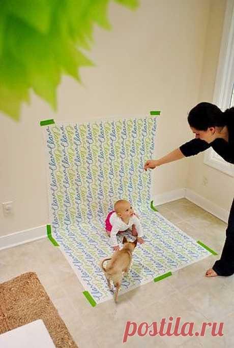 как сделать красивые фото детей в домашних условиях