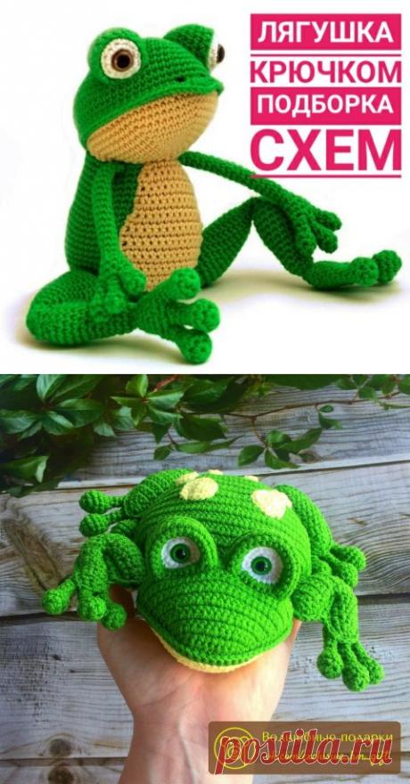 Лягушка крючком, 20 авторских игрушек