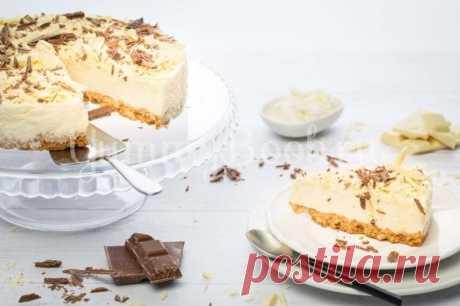 """Муссовый торт """"Белый пух"""""""