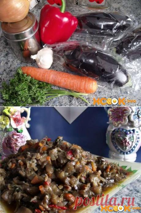 Баклажаны по-корейски – самый вкусный рецепт быстрого приготовления!