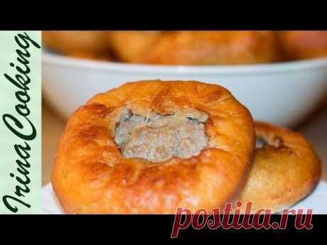 BELYASHES WITH MEAT. Yeast dough for belyashes | Belyash (Meat Pie). Yeast dough for belyash - YouTube