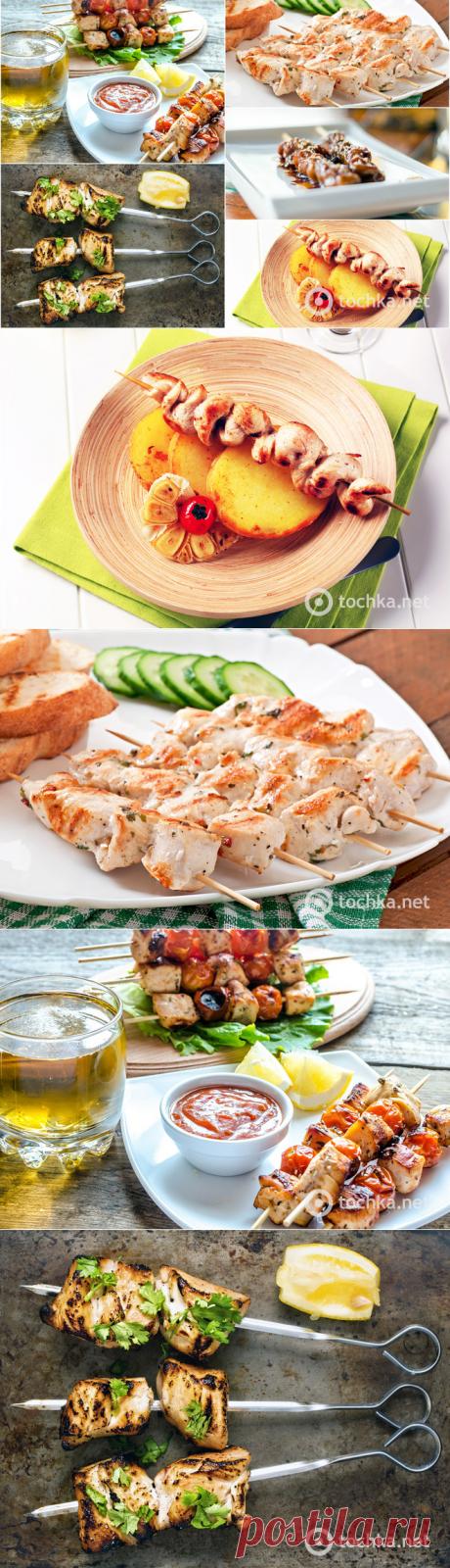Рецепт куриного шашлыка: топ-5 вкусных вариантов шашлыка из курицы - Антрекот - большая кулинарная книга