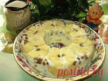 Воздушный творожный десерт «Старая Рига»