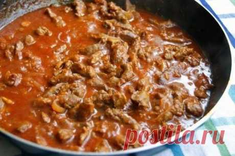 Рецепт приготовления печени «красавица востока»!