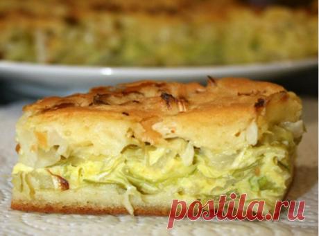 El pastel de aspic con la col - rápidamente y simplemente. Top de 5 recetas más rápidas y sabrosas