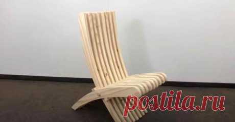 Удобный складной стул из дерева В сегодняшней статье мы расскажем, как сделать удобный складной стул из дерева своими руками.Вообще, складной стул можно сделать из любого материала. Это может быть металл, дерево или пластик (к приме...