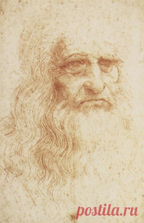 Автопортреты Леонардо часто становились предметом обсуждений и споров.