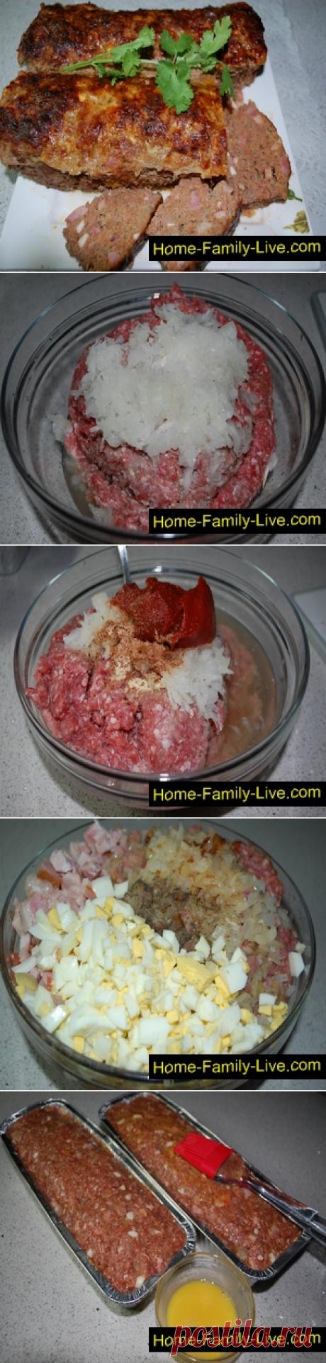 Мясной хлеб/Сайт с пошаговыми рецептами с фото для тех кто любит готовить