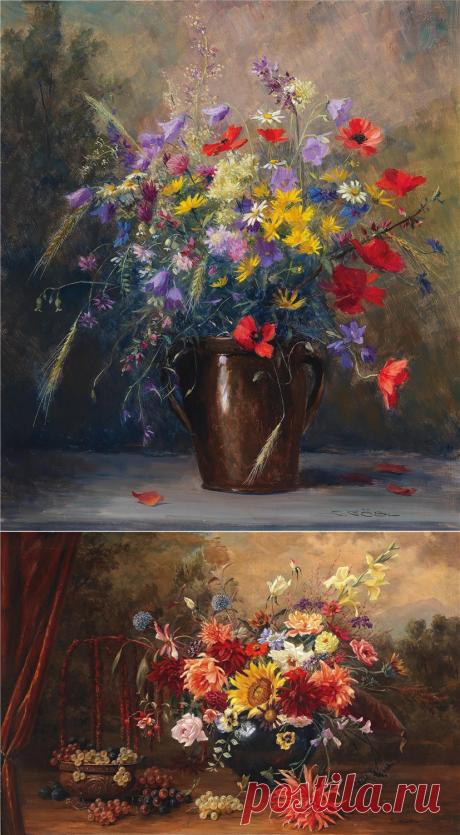 Цветы в коллекцию... Camilla Gobl-Wahl