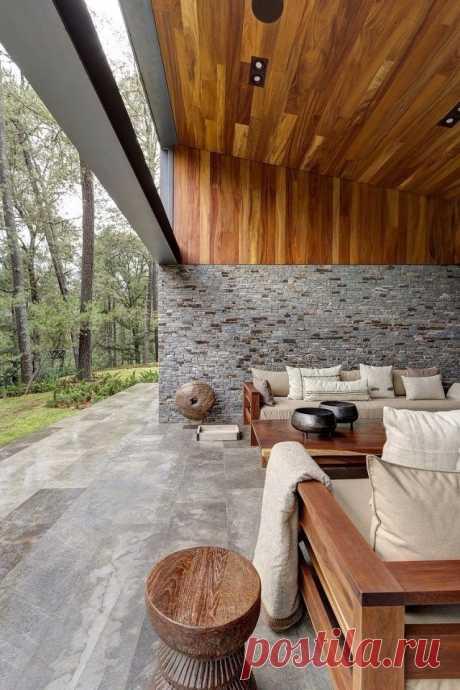 Современный дом в Мексике, разработанный Elías Rizo Arquitectos. - Дизайн интерьеров | Идеи вашего дома | Lodgers