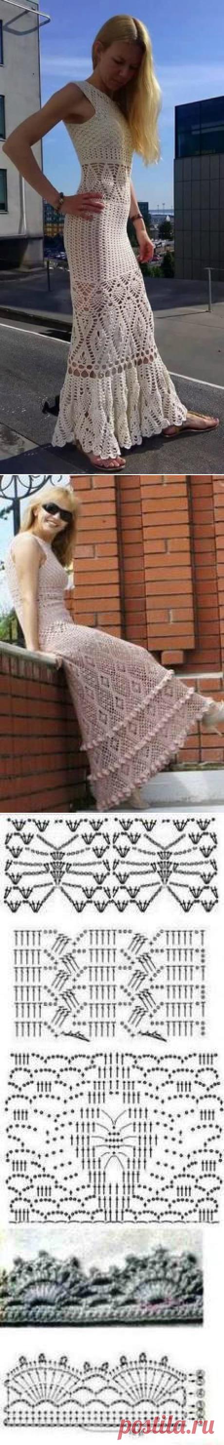 Ромбы для платья