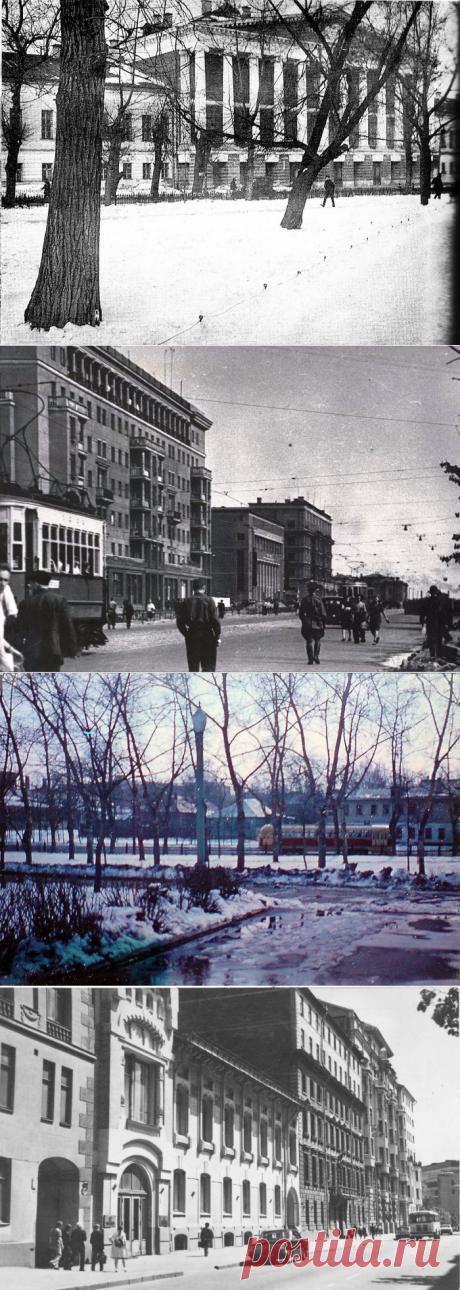 Вперёд в прошлое:  ретро фотографии Москвы в разные годы